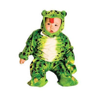 FROG PLUSH GREEN TODDLR 6-12MO