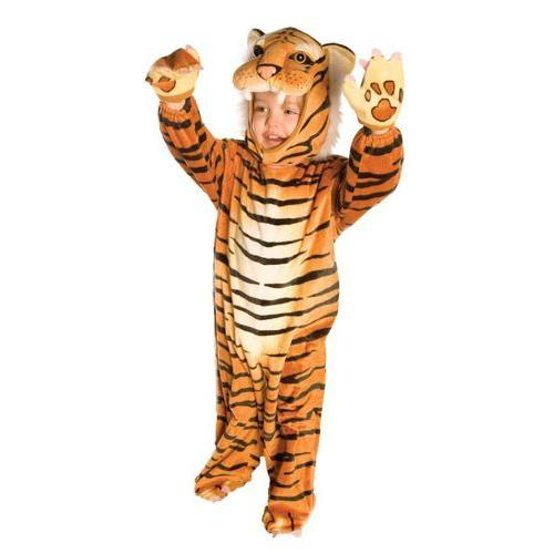 TIGER PLUSH SZ LARGE 2-4T