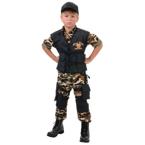 SEAL TEAM CHILD LARGE (10-12)