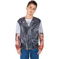 BIKER SHIRT CHILD LARGE