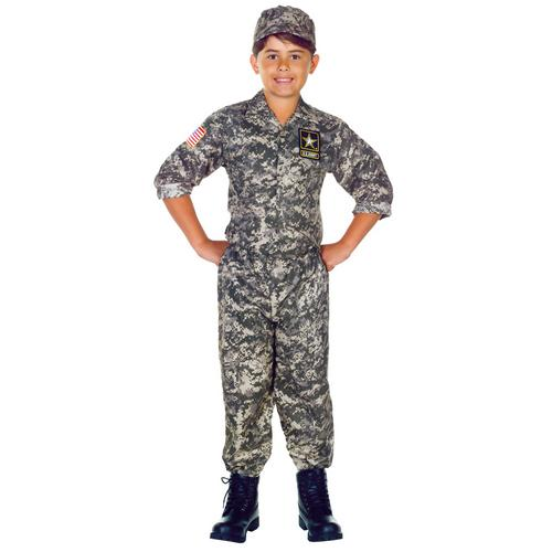U.S. ARMY CAMO SET CHILD 10-12