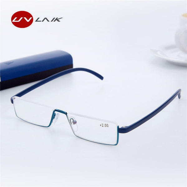 UVLAIK TR90 Reading Glasses Women Men Lightweight Frame Resin Lenses Presbyopic Glasses Reader Prescription Eyeglasses