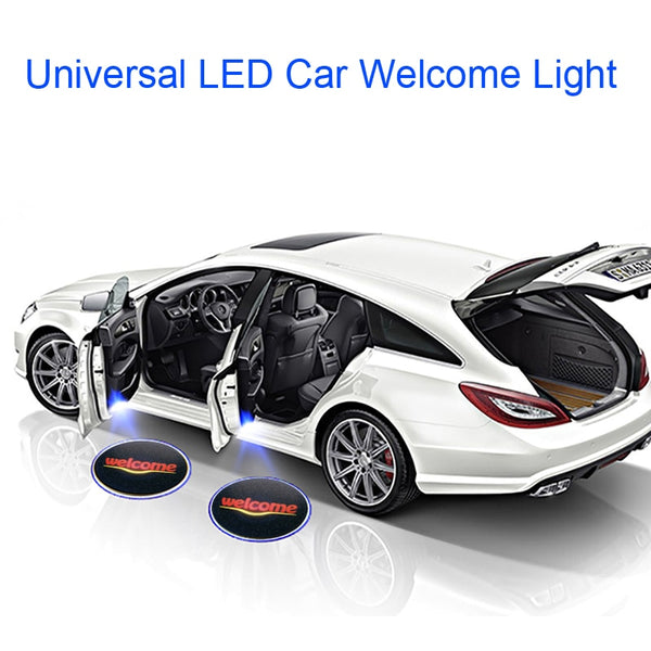 1PC Universal Wireless Car Door Welcome Logo Light Projector