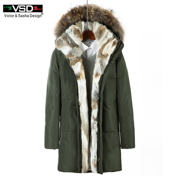 VSD 2017 90% Men's and Women's Leisure Down Jackets Quality Handsome Warm Fashion  Winter Clothing Casual Coat Male Parkas VS828