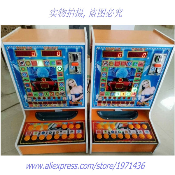 Very Popular In Africa! Jackpot Coin Operated Mini Fruit Casino Gambling Slot Games Machines