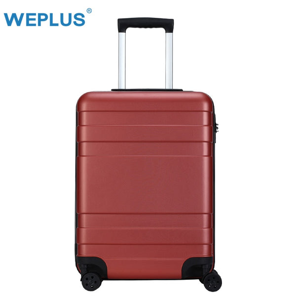 WEPLUS Rolling Suitcase Business Luggage Hardside Travel Suitcase with Wheels Lightweight Trolley Case TSA Lock Women 20 24 inch