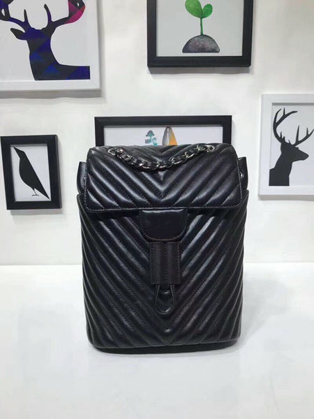WG06182             Fashionable Luxury Backpack Simple Portable Folding Europe Designer Backpack Europe Brand Runway Luggage Bag