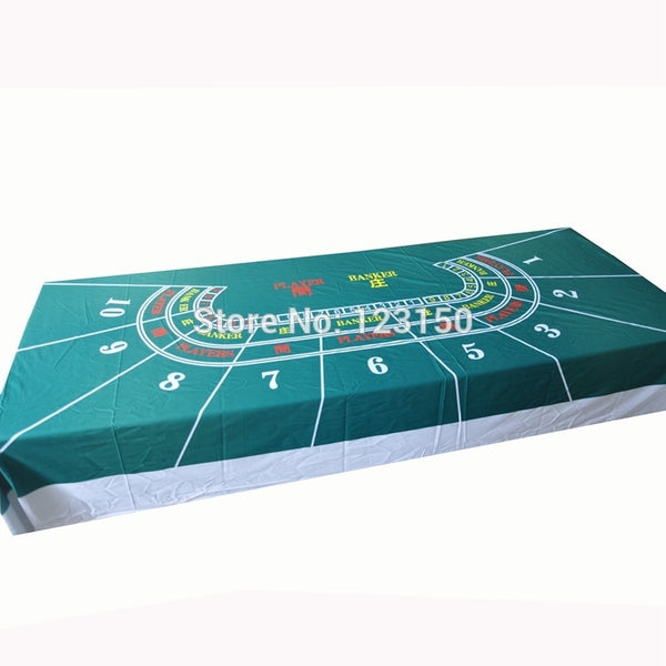 WP-056  Professional Water Resistant Poker Table Cloth,  Texas Holdem,  1PC, Free shipping