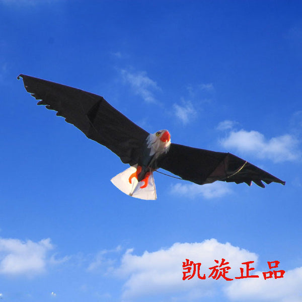 Weifang Kite umbrella cloth dynamic perspective bald eagle flying bird toy outdoor fun sports cheap china toys high quality kite