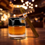 Whisky Glass Cigar Cup Cigarette Clear Crystal Whiskey Glass Drinking Wine Liquor Brandy Beer Cup Cigar Holder Wine Glasses