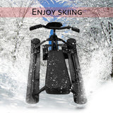 Winter Household Snow Racer with Safe Brake Snow Sled Snowmobile with Anti-slip Handle Bar Ride On Snow Grass Sand Scooter 09A