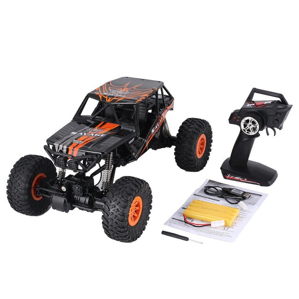 Wltoys 10428-D 1/10 Scale 2.4Ghz 4WD 18km/h High Speed RC Crawler Climbing Off-Road Rock Electric RC Remote Control Car RTR