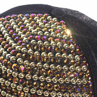 Womens Rhinestone Baseball Caps Female Luxury Bling Hats Outdoor Diamond Pearl Sun Hat Girl Snap Back Gorras Sports Hat Cap