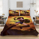 Wonder Woman DC Superhero 3D Digital Soft Bedding set Bedclothes Include Duvet Cover Pillowcase Print Home Textile Bed Linens