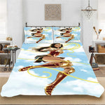 Wonder Woman DC Superhero Girl Winter Soft Bedding set Bedclothes Include Duvet Cover Pillowcase Print Home Textile Bed Linens