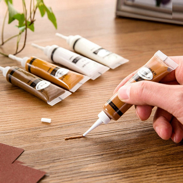 Wood Furniture OR Floor Repair Refinishing Paint Filler Repair Pen Divine