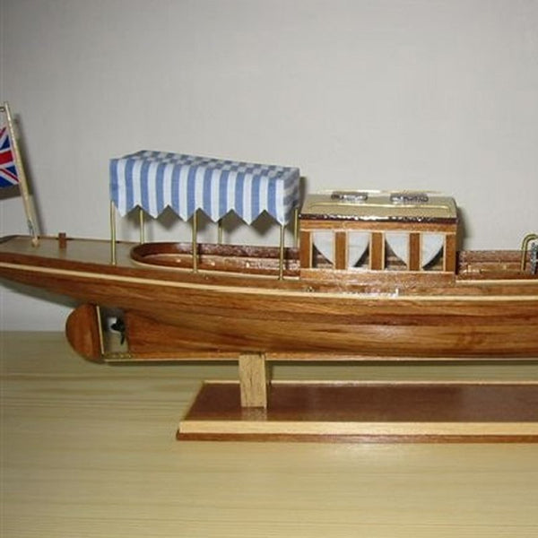 Wooden Ship Models Kits Diy Train Hobby Educational Toy Model Boats Wooden 3d Laser Cut Scale 1 26louise No Victorian Steamship
