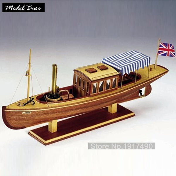 Wooden Ship Models Kits Diy Train Hobby Educational Toy Model Boats Wooden 3d Laser Cut Scale 126louise No Victorian Steamship