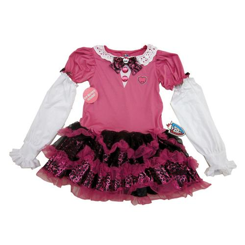 MH DRESS PINK CHILD 6+