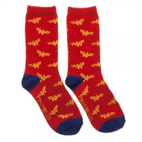 Wonder Woman 3 Pack Crew Set Socks For Women