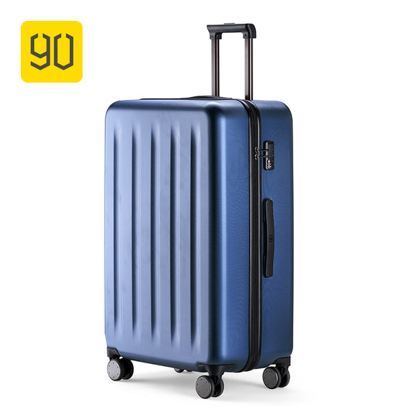 Xiaomi 90FUN 100% PC Suitcase Colorful Rolling Luggage Lightweight Carry on Spinner Wheel Travel TSA lock women men 20 24 28inch