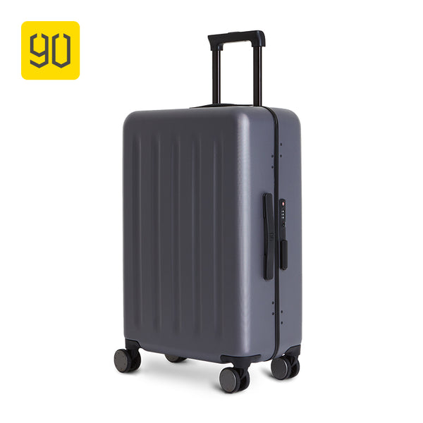 Xiaomi Ecosystem 90FUN Lightweight Aluminum Framed Suitcase PC Spinner Wheel Carry on Luggage,20 inch 24 inch Travel Vacation