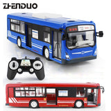 ZhenDuo Toys E635-0012.4G Remote Control Bus Car Charging Electric Open Door RC Car Model Toys for Children Gifts