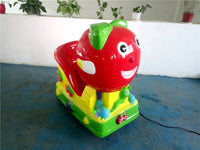 amusement coin operated kids Swing Machine FRP kiddie ride on toy car YLW-K1833