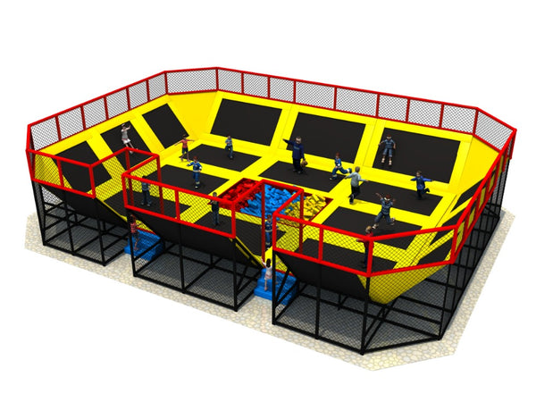 customized amusement trampoline park,gym sport fitness trampoline,indoor trampoline park