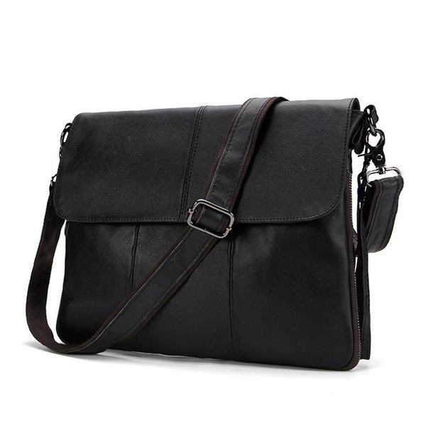 European Genuine Leather Men Bag Men Briefcases male Leather business Computer Laptop Bags Crossbody Bags Mens Messenger Ba
