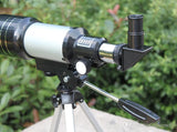 F30070M Monocular Professional Space Astronomical Telescope with Tripod Barlow Lens Eyepiece Moon Filte