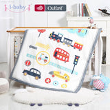 i-baby Baby Bedding Set 9pcs Crib Set Newborn Journey Car Cotton Printed Cot Sheet Duvet Pillow Quilt Sets in Crib Girl Boy