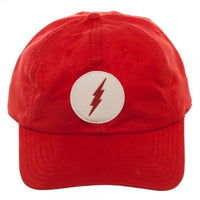 The Flash Leather Label Suede Dad Hat
