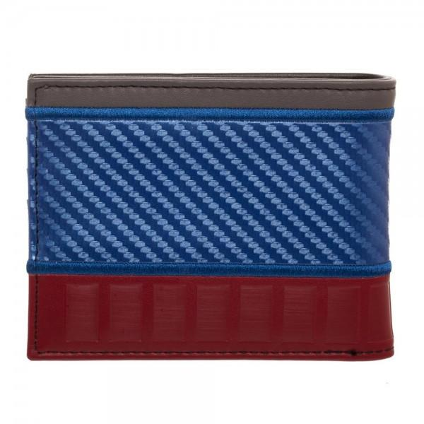Marvel Captain America Carbon Fiber Bi-Fold Wallet