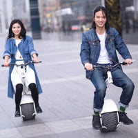 solo one wheel fat tire self balancing hoverboard scooter with seat 800W with e-break