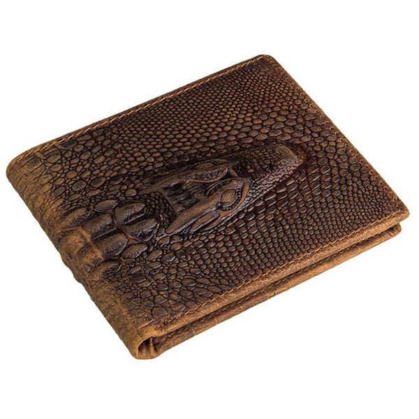 Rare Fashion Crocodile Leather Wallet Top Quality