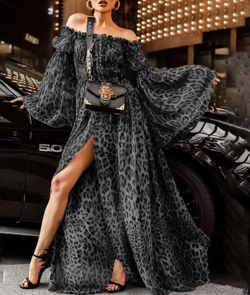 Women Clothes Sexy Leopard Collar Designer Dress Dresses for Women Night Club Dresses Luxury Designer Womens Dresses
