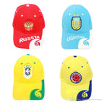 World Cup 2018 Soccer Fans Hats Casquette Baseball Cap Men Women Embroidery Hat Sunbonnet National Team Football Outdoor Sport Cap Gif