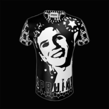 Load image into Gallery viewer, SPRUIKA 'HRH Henry' ICON Tee in Liquid Gleam Stretch Fabric