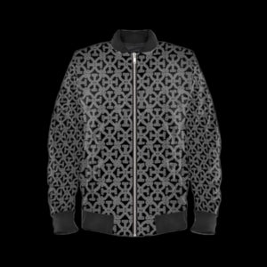 Larvotto Tantric-Space 'all-weather' Bomber Jacket Black-Cuff.