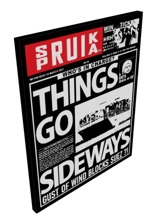SPRUIKA TABLOID - Things Go Sideways - Wednesday 24 March 2021