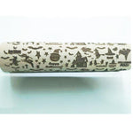 Halloween/Christmas Embossing Rolling Pin