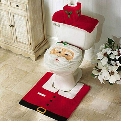 Christmas Decorations Bathroom
