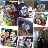 3D Stand Ears Animal Balaclava Face Mask