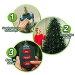 "Tree Dazzler 72"" Deluxe LED Christmas Tree Light with 31 Colors/Patterns"