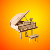 Puzzle 3D bois | Piano à queue