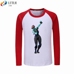 9e0a1d66f Fortnite Dance Tee Shirt Dab On Em Fortnite Tee Shirt Boys Long Sleeve T- shirts