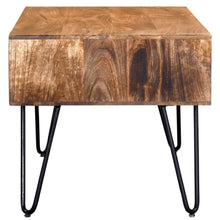 Load image into Gallery viewer, Natural Burnt Coffee Table Best Home Accent Tables