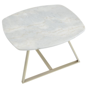 White Marble Coffee Table | Best Home Furnishings