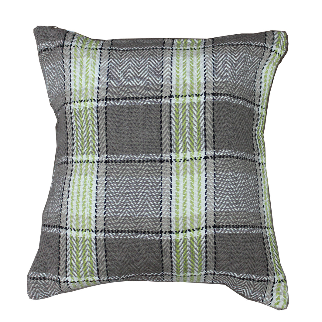 Lime Highland Cushion
